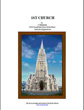 1St Church - Cross Stitch Chart