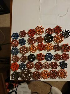 40 Total Of Spigot & Valve Handles STEAMPUNK Industrial Arts And Crafts