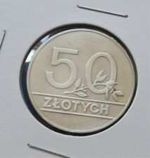 1990 Poland 50 Zlotych - Very Nice Coin - See PICS