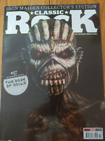 CLASSIC ROCK MAGAZINE OCT 2015, IRON MAIDEN Book of Souls cover #17