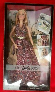 NIB Mattel The Barbie Look Music Festival Barbie Hippie Boho DGY12 2016