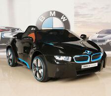 BMW i8 12V Ride On Kids Battery Power Wheels Car RC Remote Black
