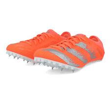 adidas Mens Sprintstar Running Spikes Traction - Orange Sports Breathable