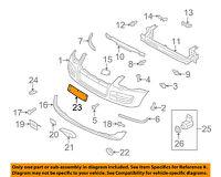 VW VOLKSWAGEN OEM 07-10 Touareg-License Plate Bracket Mount Holder 7L6807287S9B9