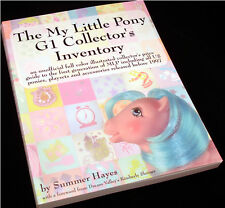The My Little Pony G1 Collector's Inventory by Summer Hayes VTG MLP Price Guide