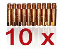 10 x Stromdüse MB14 MB15 MB150 Kontaktrohr Kontaktrohre 6x25 M6 Stromdüsen Zyl.