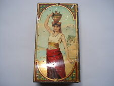 SCARCE C1880S PEEK FREAN & COS BISCUITS LONDON SMALL BISCUIT TIN