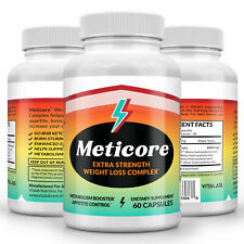 Meticore Extra Strength Weight Loss Supplement Metabolism Appetite Suppressant