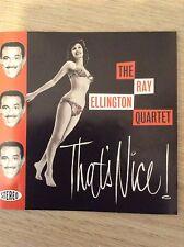 THE RAY ELLINGTON QUARTET: THAT'S NICE! CD 1950's jazz  inc 3  unreleased tracks