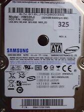 320gb Samsung hm320ji | p/n: 309411cq8773365 | 2008.09 | #325