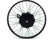 "Crystalyte The Crown Hub Motor TC4080 Laced in 26"" Rim"