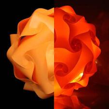 Orange 30cm lampshade light shade kit Retro Puzzle ceiling Lantern Pendant