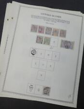 EDW1949SELL : LEEWARDS A Choice & Beautiful VF, Mint & Used collection Cat