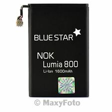 BATTERIA ORIGINALE BLUE STAR 1600mAh LI-ION PILA LITIO PER NOKIA N9 LUMIA 800