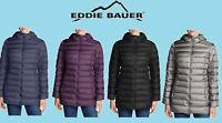NEW!!! Eddie Bauer Women's Cirruslite 650 Down Parka Puffer Packable Jacket