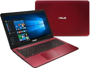 ASUS Laptop Notebook AMD A10 1.8ghz 8gb 1TB HDD - Red - X555DA-BB11-RD - NEW!