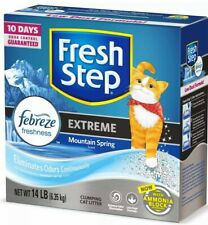Fresh Step Extreme Scented Litter with The Power of Febreze Clumping Cat Litter