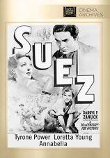 Suez (1938 Tyrone Power, Loretta Young) - Region Free DVD - Sealed