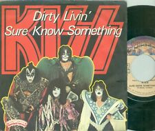 "KISS - DIRTY' LIVIN'( FRENCH  CASABLANCA  45 CB 1226) 7""PS  1979"