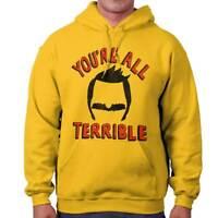 All Terrible Funny Gift Cool Bobs Burgers Cute Cartoon Gene Hoodie Sweatshirt
