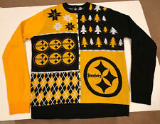 Pittsburgh steelers forever collectibles mens ugly sweater Christmas xl