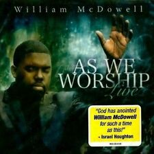 as We Worship Live 0099923510321 by William McDowell CD