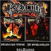 BENEDICTION SUBCONSCIOUS TERROR + THE GRAND LEVELLER 2 CD SET NEW