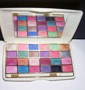 Pro Miss Rose 24 Colors Natural Shimmer Matte Eyeshadow Palette Makeup