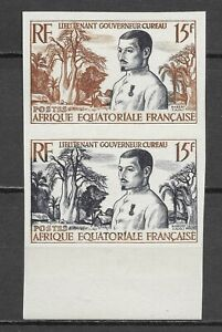 France French Colony Doctor Cureau Medicine Bombax Imperfs Proofs Essay ** 1952