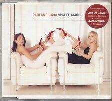 PAOLA & CHIARA - Viva el amor - CD SINGLE 2000 USATO OTTIME CONDIZIONI 4 TRACKS