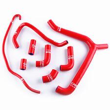 Fit 2000-2006 Honda RC51 RVT1000R VTR1000 SP1 SP2 Radiator Hose Kit Silicone Red