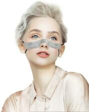 Grey Mini Shield Washable Windproof Anti Fog Visual Face Guard Visor Adjustable