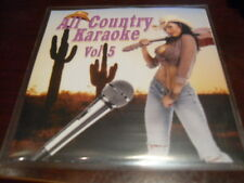 ALL COUNTRY KARAOKE DISC VOL 5 CD+G 16 TRACKS