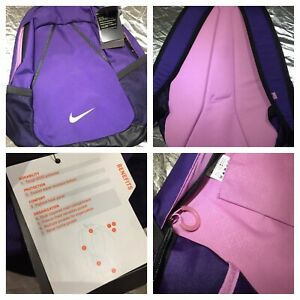 NWT Nike Deadstock Premium Backpack Purple Soft Pink Colourway 26 Litres Unisex