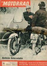 M6126 + AJS 350 ccm, Motor-Arbeiten, XVI + Das MOTORRAD Nr. 26 vom 23.12.1961