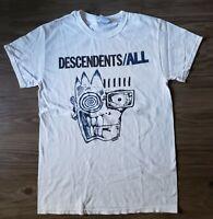 Vtg Descendents ALL Band Tour Punk Rock Metal T Shirt Sz S