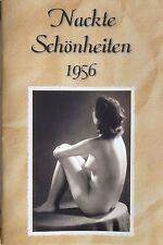 Akt Foto Magazin NACKT behaart  Gondel 1956 Busen fkk DDR sexy Frau Girl Mädchen