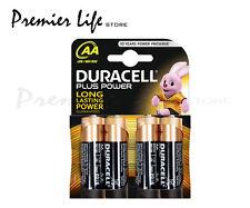 DURACELL MN1500 AA Plus Power LR6 Pile Alcaline-confezione da 4