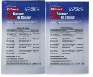 Loreal Effasol Color Remover 7/8oz For 2pcs With Free Shipping!