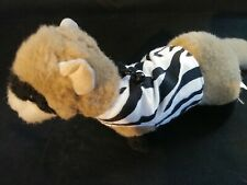 Ferret Harness - Standard Zebra Stripe - S