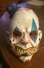 Serial Killer Clown Latex Costume Mask Halloween Party Scary Horror Jester