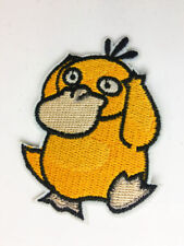 Psyduck Pocket Monster pants hat Iron on Embroidered Badge Applique Patches