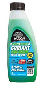Nulon General Purpose Coolant Premix - Green GPPG-1 fits Peugeot 204 1.1