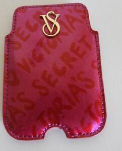 Victorias Secret Genuine Leather Card Pouch NEW