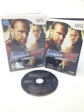 WWE SMACKDOWN VS RAW 2009  game complete in case w/ manual - Nintendo Wii