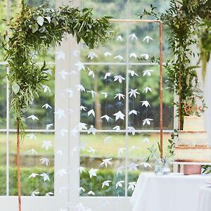 White Flower Backdrop, Wedding / Party Venue Hanging Decoration