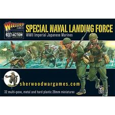 28mm Bolt Action Imperial Japanese Special Naval Landing Force WWII Models