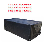 7/8/9ft Polyester Waterproof Fabric Outdoor Pool Snooker Billiard Table