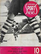 1938-39 Boston Olympics-Shawinigan Falls Cataractes Program RARE!!