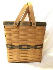 Longaberger Collector's Club 2001 Charter Membership Basket Hand Woven Basket